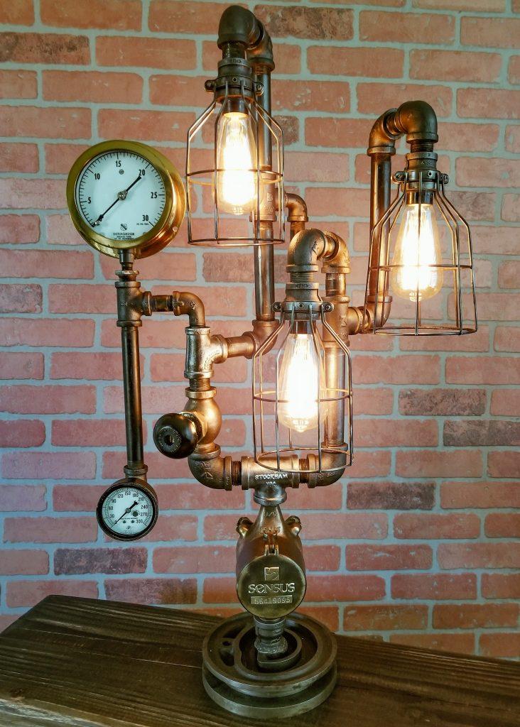 Steampunk Industrial Vintage Lamp 132 Table Lamp Desk